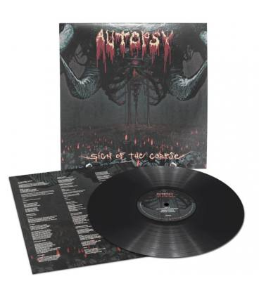 """Sign Of The Corpse-1 LP 12"""" BLACK"""