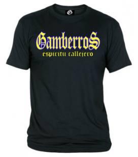 Camiseta Gamberros Espiritu Callejero Negra