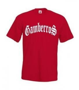 Camiseta Gamberros Clasica Roja