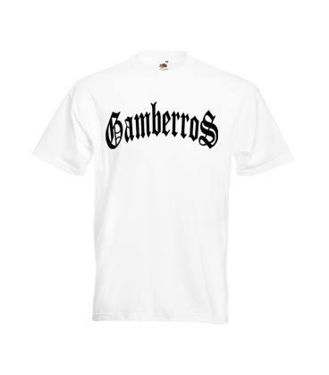 Camiseta Gamberros Clasica Blanca