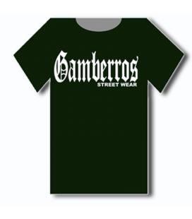 Camiseta Gamberros Street Wear Verde