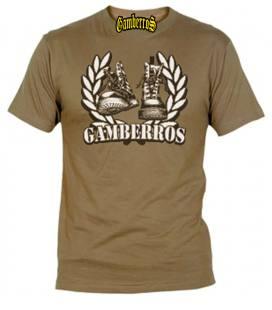 Camiseta Gamberros Botas Marron