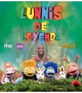 Lunnis De Leyenda, Vol. 3-1 CD+1 DVD