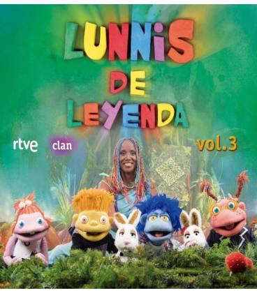 Lunnis De Leyenda, Vol. 3-1 CD+1 DVD