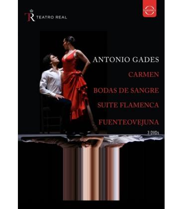 Spanish Dance From The Teatro Real-3 DVD