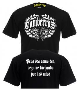 Camiseta Gamberros amor y odio