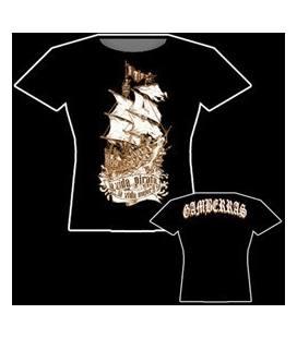 Camiseta Gamberras La Vida Pirata
