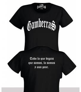Camiseta Gamberras Clásica Negra