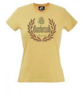 Camiseta Gamberras Así es mi vida Amarilla