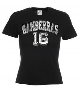 Camiseta Gamberras 16 Negro