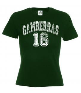 Camiseta Gamberras 16 Verde
