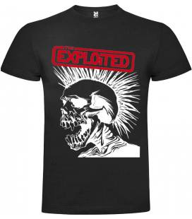 The Exploited Skull Camiseta Manga Corta