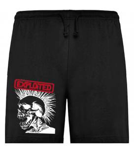 The Exploited Skull Bermudas