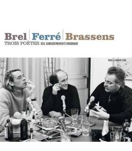 Trois Poètes: Brel-Ferré-Brassens (Version 2015) 3 CD