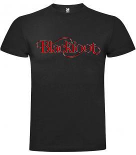 Blackfoot Logo Camiseta Manga Corta