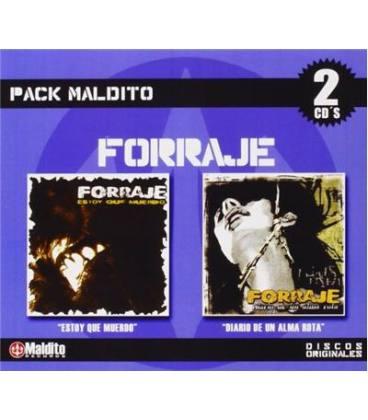 """Pack Forraje """"Estoy Que Muerdo"""" """"Diario De Un Alma Rota"""" (2 CD)"""