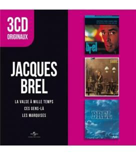 Originaux : Les Marquises - Ces Gens-là - La Valse à Mille Temps (3 CD)