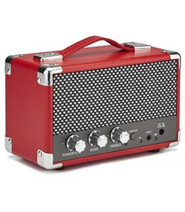 Altavoces - GPO Mini Westwood Speaker Pillarbox Red