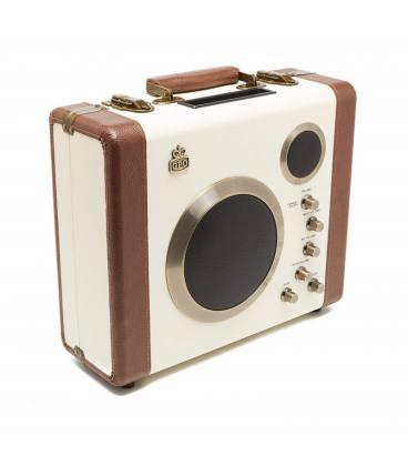 Altavoces - GPO Manga Cream/Brown Bluetooth Speaker Amp