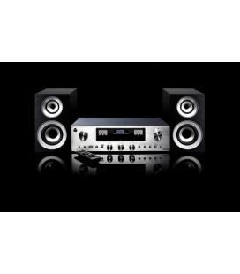 Amplificador/Sistema Altavoces - PR 200 Silver