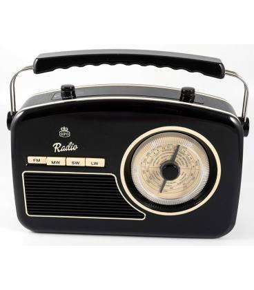 Radio - GPO Rydell Nostalgic Radio 4 Band Black