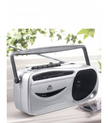 Radio Cassette - GPO 9401 Silver