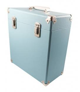 """Caja Vinilos - GPO Vinyl Case Blue 12"""""""