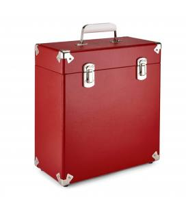 "Caja Vinilos - GPO Vinyl Case Red 12"""