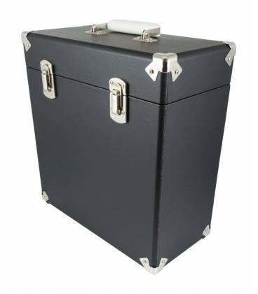 """Caja Vinilos - GPO Vinyl Case Black 12"""""""