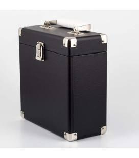 """Caja Vinilos - GPO Vinyl Case Black 7"""""""