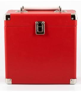 Caja Vinilos - GPO 7Inch Vinyl Case Red