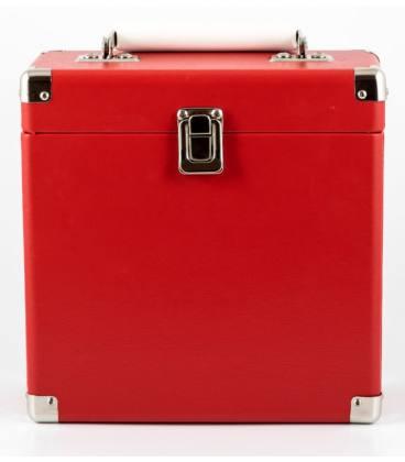 "Caja Vinilos - GPO Vinyl Case Red 7"""