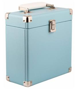 Caja Vinilos - GPO 7Inch Vinyl Case Blue