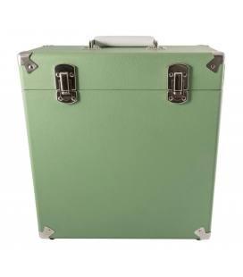 """Caja Vinilos - GPO Vinyl Case Green 12"""""""