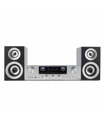 Tocadiscos/Sistema Altavoces - PR 100/200 Bundle Silver
