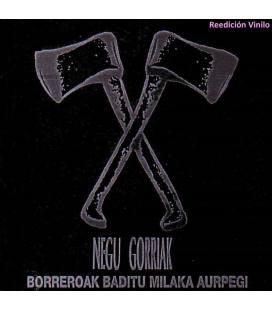 """Borreroak Baditu Milaka Aurpegi (2 LP 12"""")"""