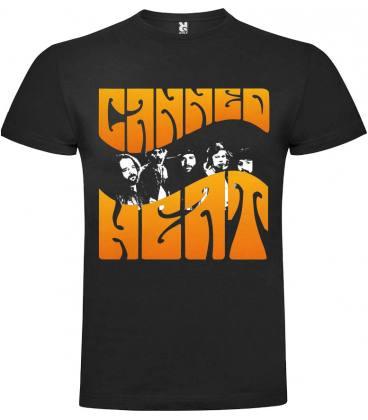 Canned Heat Band Camiseta Manga Corta