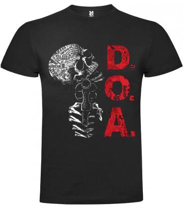 D.O.A.Skull Camiseta Manga Corta