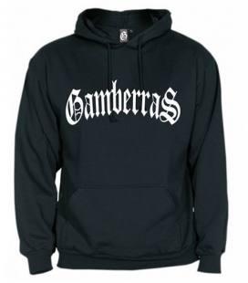Sudadera con capucha Gamberras Clásica negra
