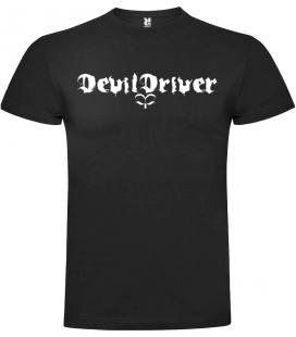 DevilDriver Logo Camiseta Manga Corta