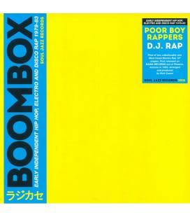 "Boombox, Dj Rap (1 LP 12"")"