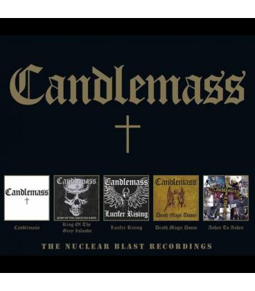 Candlemass-The Nuclear Blast Recordings (5 CD)