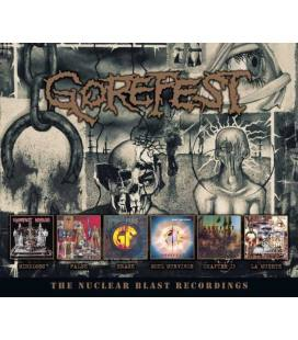 Gorefest-The Nuclear Blast Recordings (6 CD)