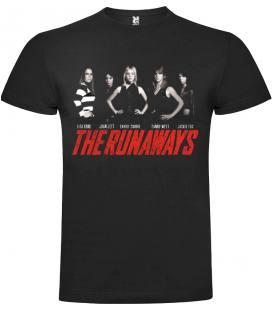 The Runaways Band Camiseta Manga Corta