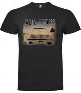 Neil Young Storytone Camiseta Manga Corta
