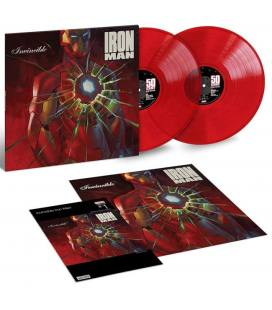 Get Rich Or Die Tryin' (Marvel Hip-Hop Variant Cover Edition - Invincible Iron Man) 2 LP Deluxe Edition