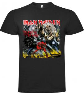 Iron Maiden The Number Of The Beast Camiseta Manga Corta