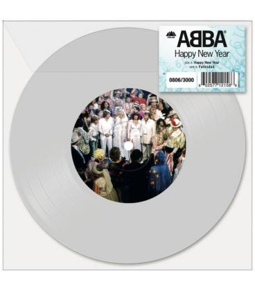 """Happy New Year (1 LP 7"""" Single White-Edición Limitada)"""