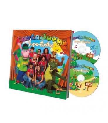 Super Éxitos (1 CD LIBRO+1 DVD)