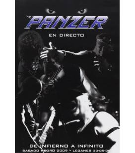 Pack: De Infierno a Infinito (directo, sabado negro 2009, leganes) 1 DVD y CD Single Inmortal/Dame Color